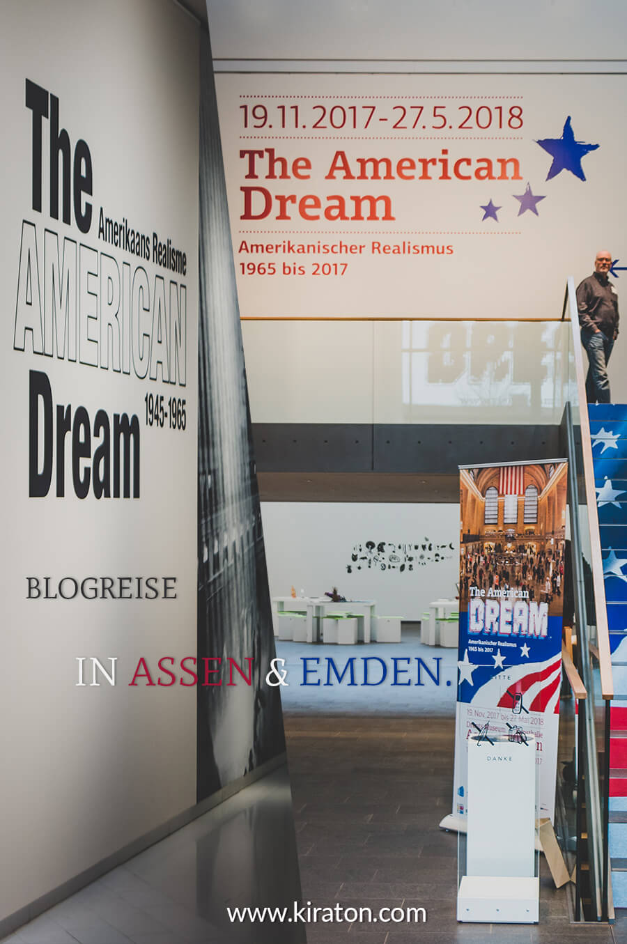 Blogreise The American Dream in Assen & Emden.
