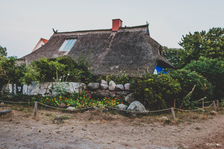 Die Blaue Scheune auf Hiddensee.